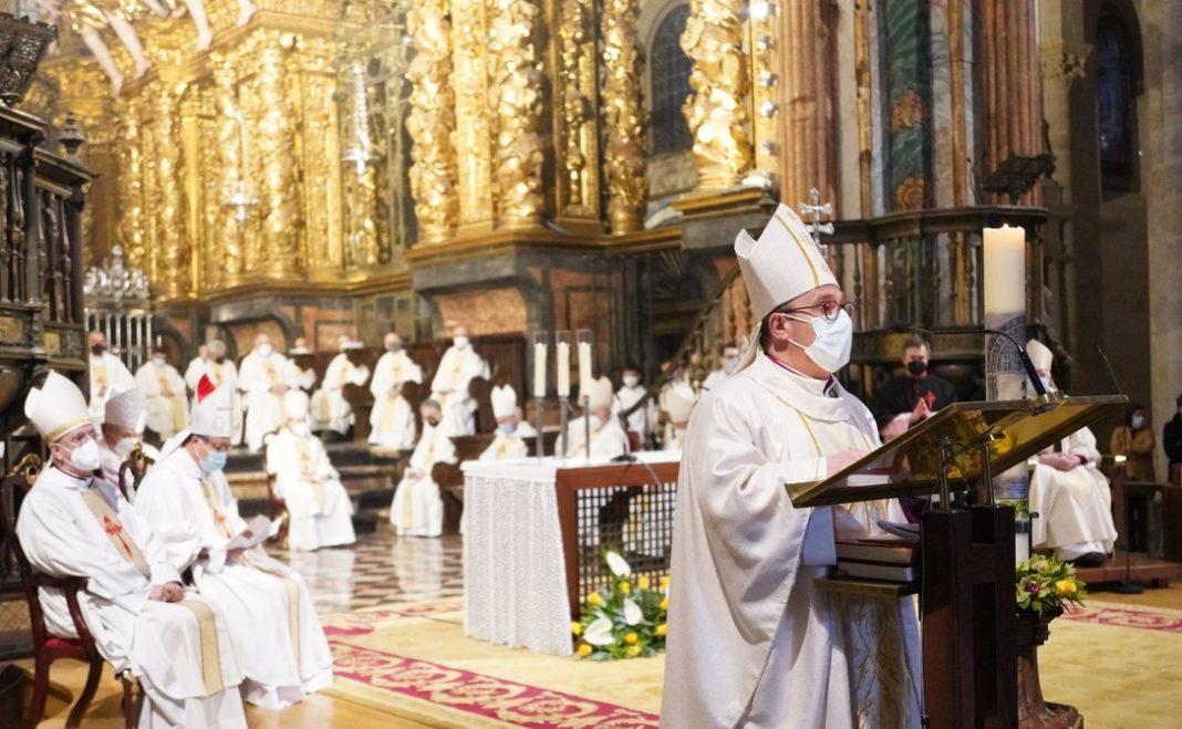 Acción de gracias del nuevo obispo auxiliar